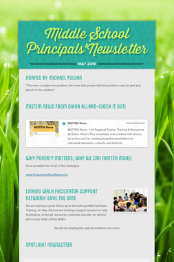 Middle School Principals'Newsletter