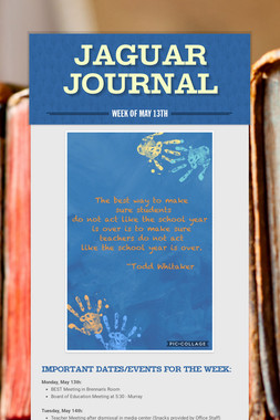 Jaguar Journal