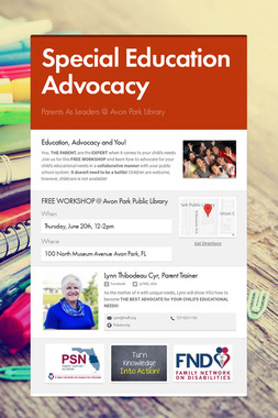 Special Education Advocacy