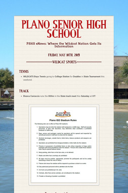 PLANO SENIOR HIGH SCHOOL
