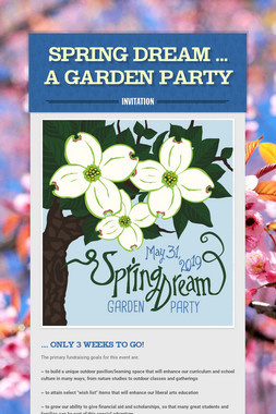SPRING DREAM ... A Garden Party