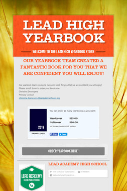 LEAD High Yearbook