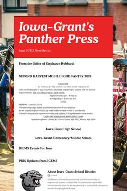 Iowa-Grant's Panther Press