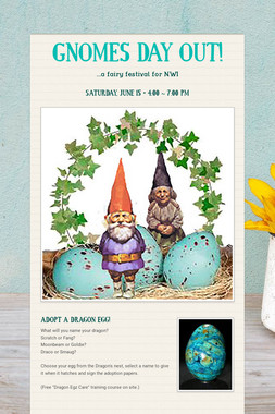 GNOMES DAY OUT!