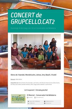 CONCERT de GRUPCELLO.CAT2