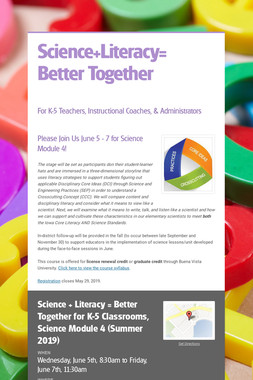 Science+Literacy= Better Together