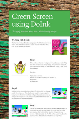 Green Screen using DoInk