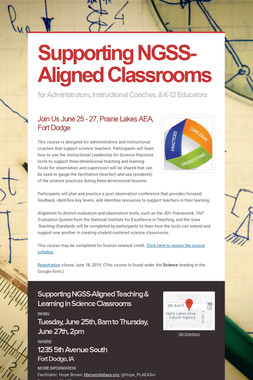 Supporting NGSS-Aligned Classrooms