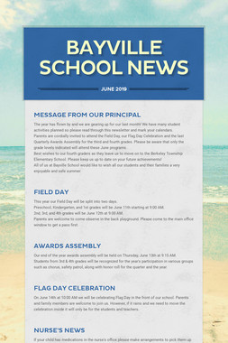 Bayville School News