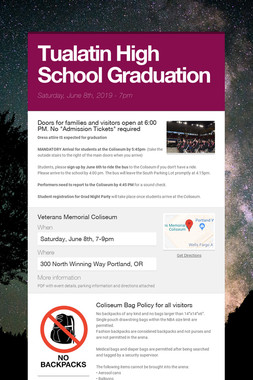 Tualatin High School Graduation