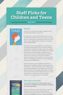 Staff Picks for Children and Teens
