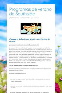 SCPS Enrichment Programs