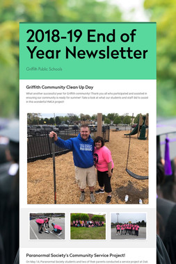 2018-19 End of Year Newsletter