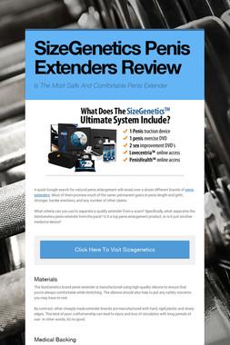 SizeGenetics Penis Extenders Review