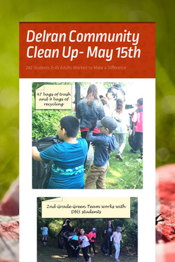 Delran Community Clean Up- May 15th