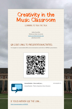 Creativity in the Music Classroom