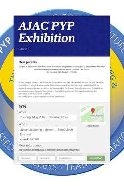 AJAC PYP Exhibition