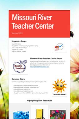 Missouri River Teacher Center
