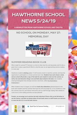 Hawthorne School News 5/24/19