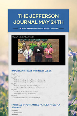The Jefferson Journal May 24th