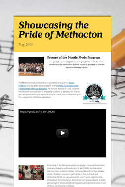 Showcasing the Pride of Methacton