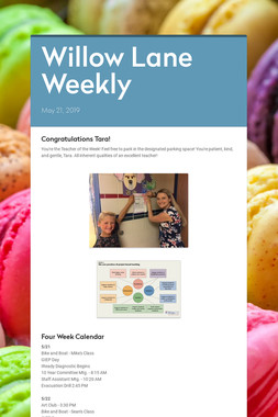 Willow Lane Weekly