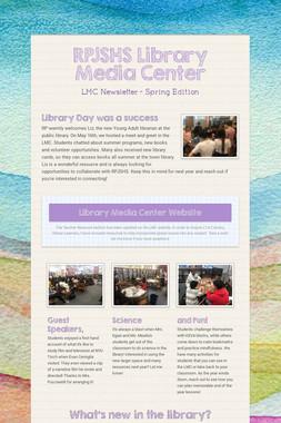 RPJSHS Library Media Center