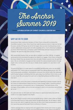 The Anchor Summer 2019