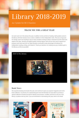 Library 2018-2019