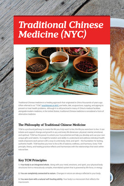 Traditional Chinese Medicine (NYC)