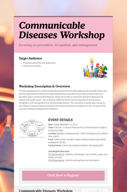 Communicable Diseases Workshop