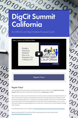 DigCit Summit California