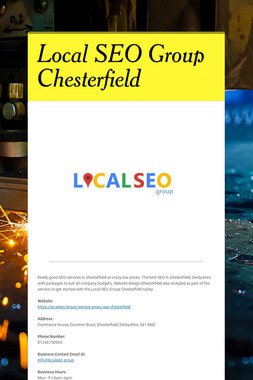 Local SEO Group Chesterfield