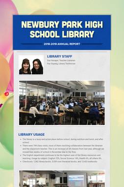 Newbury Park High School Library