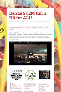 Delran STEM Fair a Hit for ALL!