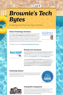 Brownie's Tech Bytes