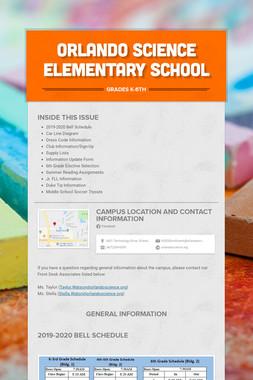 Orlando Science Elementary School