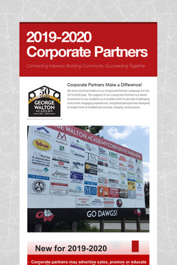 2019-2020 Corporate Partners