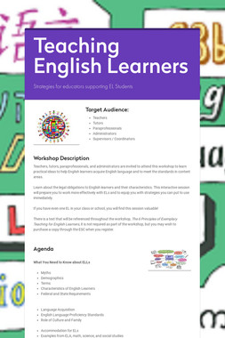 Introduction to English Learners