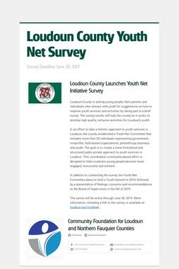 Loudoun County Youth Net Survey