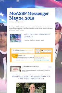 MoASSP Messenger May 24, 2019