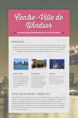 Centre-Ville de Windsor