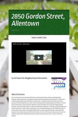 2850 Gordon Street, Allentown