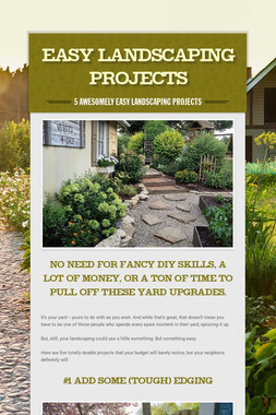 Easy Landscaping Projects