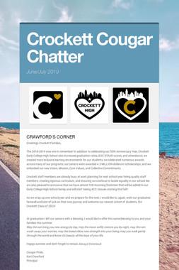 Crockett Cougar Chatter
