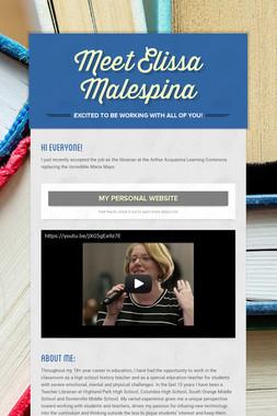 Meet Elissa Malespina