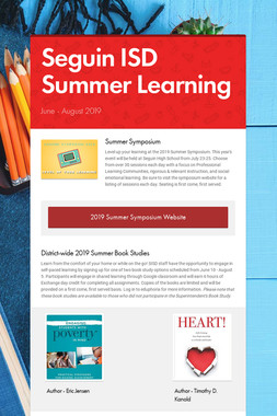Seguin ISD Summer Learning