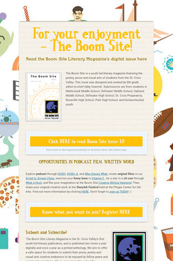 For your enjoyment - The Boom Site!