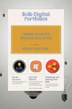 Bulb Digital Portfolios