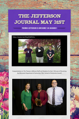 The Jefferson Journal May 31st